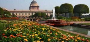 राष्ट्रपति भवन में मौजूद 'मुगल गार्डन' का नाम बदलकर डॉक्टर राजेंद्र प्रसाद उद्यान रखा जायेगा!