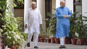 चार साल बाद नीतीश की हुई घर वापसी, जदयू एनडीए में हुआ सामिल