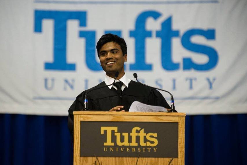 Sharad sagar, young alumni award, tuft university,bihar, dexterity