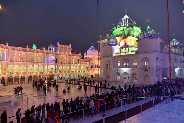 Bihar news, bihar tourism, prakash parv, patna sahib