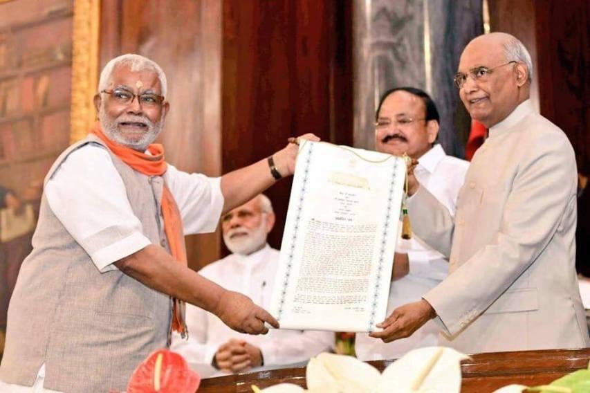 MP, Hukumdev Narayan, Madhubani, MP, Best MP award, Best parliamentarian, loksabha MP, Bihar News, Politics of Bihar