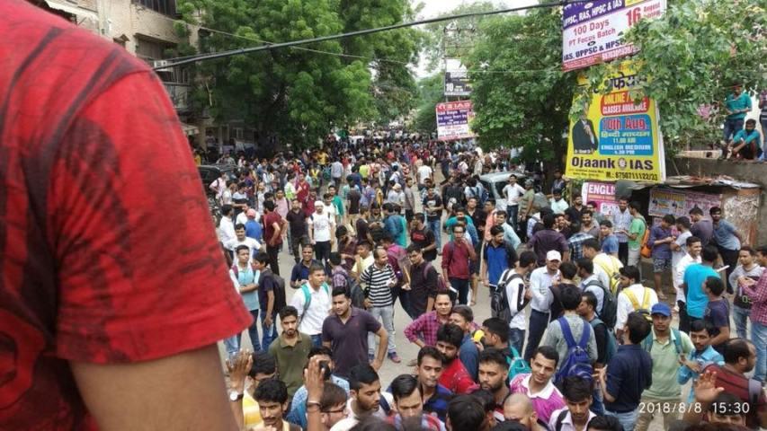 mukharji nagar, nehru bihar, gandhi vihar, students, UPSC, bihar