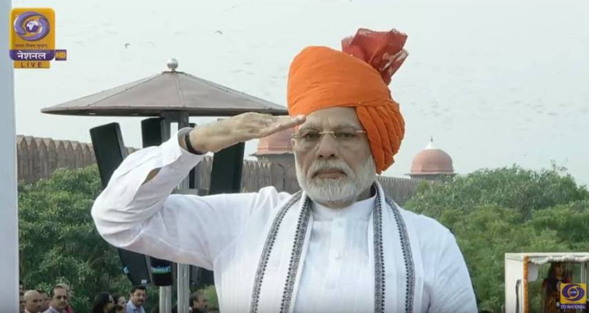 narendra modi, 15 august, red fort, 72 independance day, India, narendra modi full speech, jai hind