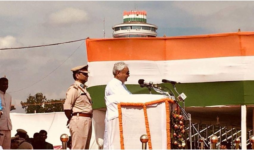 nitish kumar, independence day, gandhi maidan , bihar cm, nitish speech, bihar news, aapna bihar, apna bihar