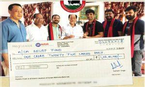 केरला के बाद सुशांत सिंह राजपूत ने नागालैंड बाढ़ पीड़ितों की मदद के लिया दिए 1.25 करोड़