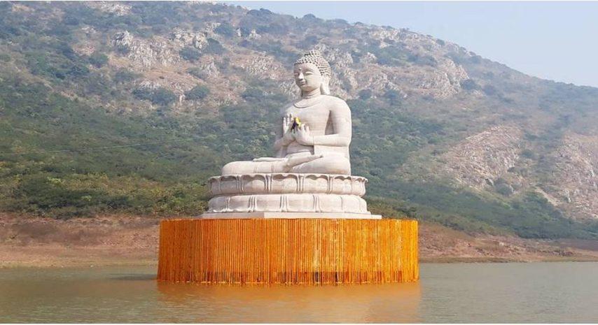 Budhha in Bihar, Rajgir, Ghora Katora, Bihar Tourism