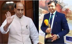 बिहार कैडर के आईएएस कुंदन कुमार बने देश के रक्षा मंत्री राजनाथ सिंह के निजी सचिव