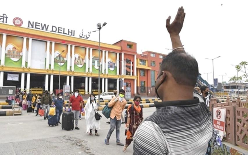 Shramik Special train from delhi to Bihar