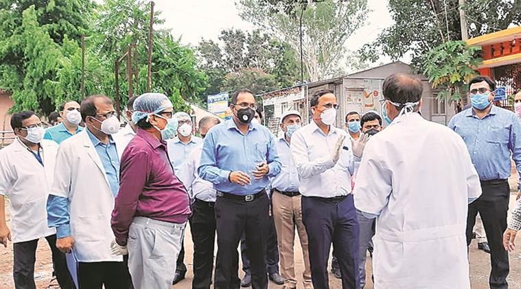 central team in bihar, corona virus outbreak in bihar, central team visits bihar