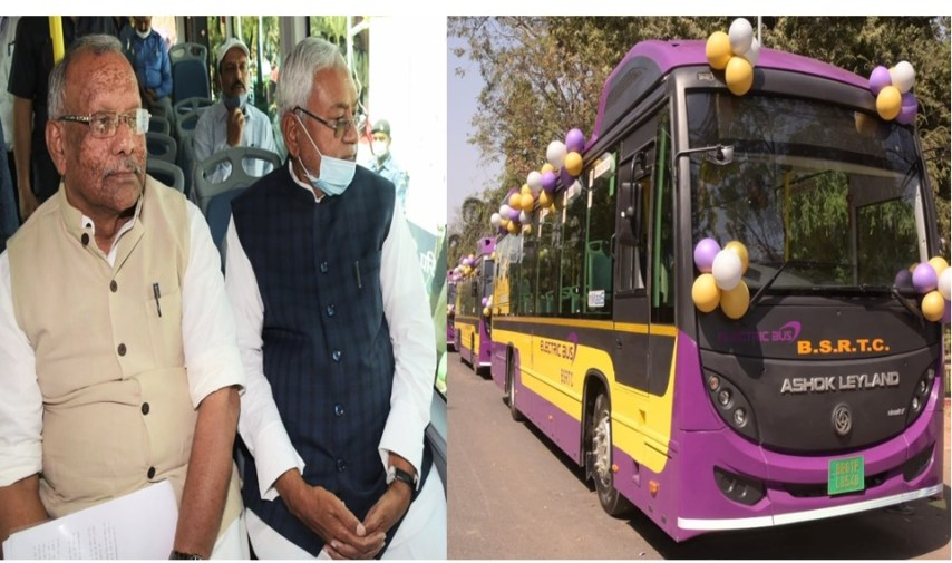 Electric buses of bihar