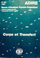 N° 2/3 CORPS ET TRANSFERT (1987)