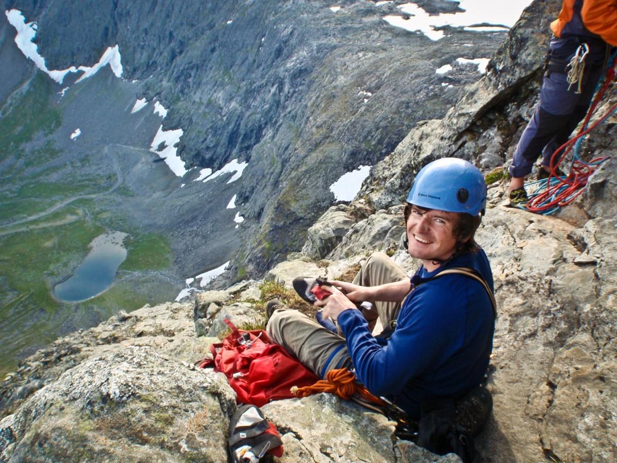 Normalveien på Romsdalshorn