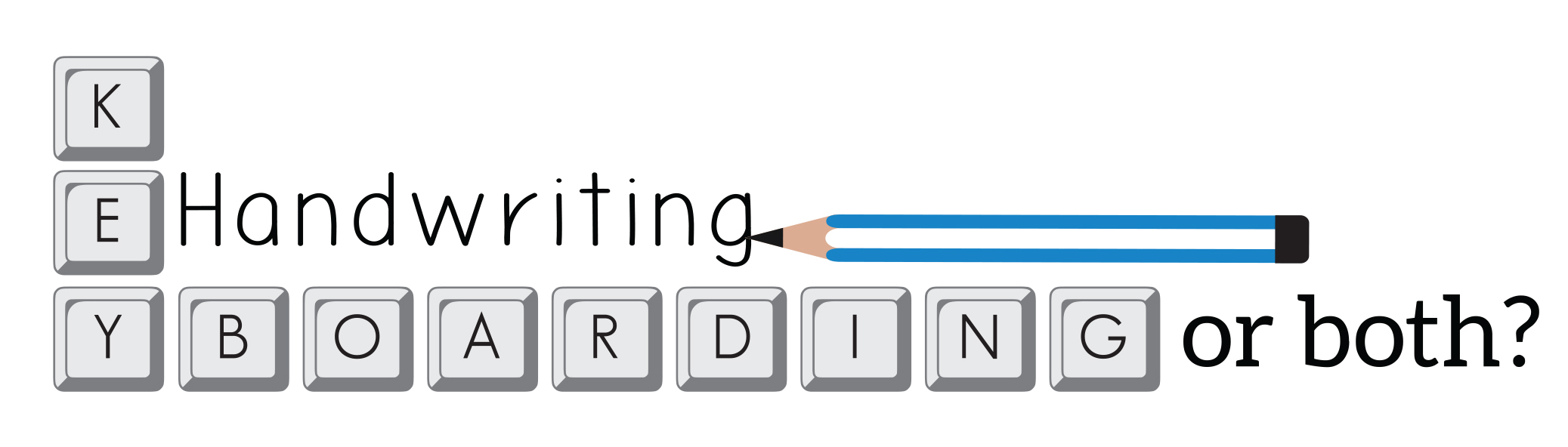 Keyboarding, handwriting or both for 21st century learning?