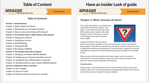 Amazon Marketing Made Easy Training Guide Download
