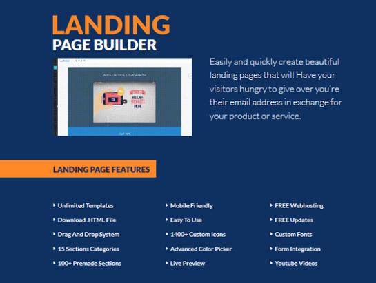 Breeze Builder Landing Page Builder Software JVzoo Live