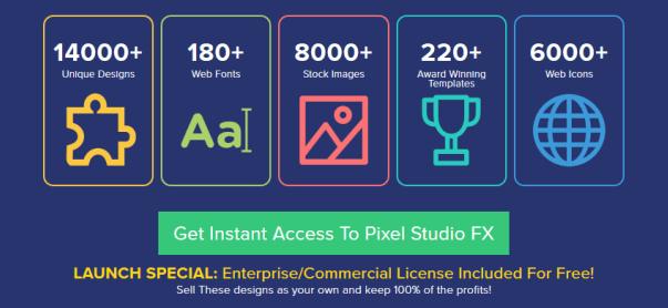 Pixel Studio FX 2.0 Graphic Software Video Marketing