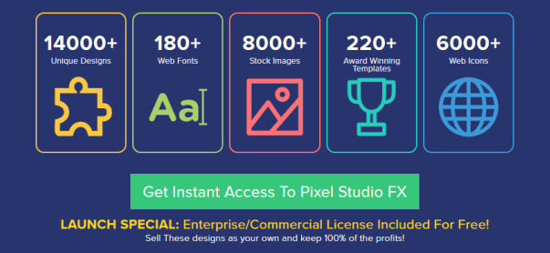 Pixel Studio FX 2.0 Graphic Software Video Marketing