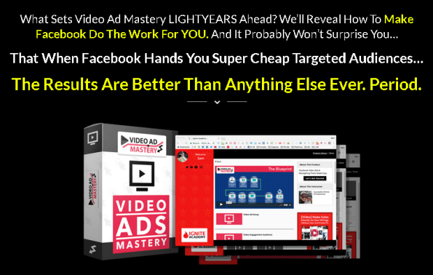 Video Ad Mastery Facebook Training by James Sides Discount Special