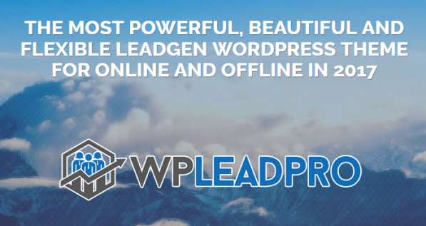 WPLeadPro 2017 Theme By Pixelcrafter Download