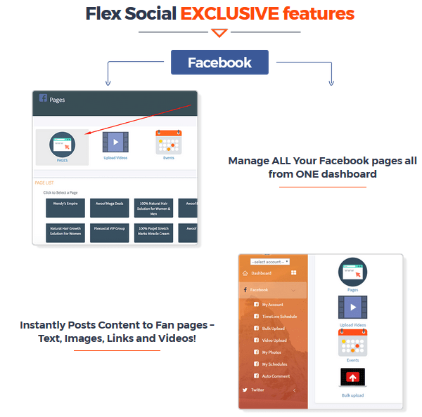 FlexSocial Software By Daniel Adetunji Modules