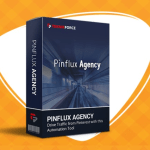 PINFLUX AGENCY LICENSE BY CYRIL GUPTA REVIEW – BEST UPSELL #2 OF PINFLUX PINTEREST MARKETING WITH UPGRADE UNLOCKS ALL FEATURES, SUPPORTS UNLIMITED ACCOUNTS & UNLIMITED BOARD AND UNLOCK RECURRING PROFITS BY CHARGING YOUR CLIENTS A MONTHLY FEE TO PROMOTE THEIR BUSINESS ON PINTEREST