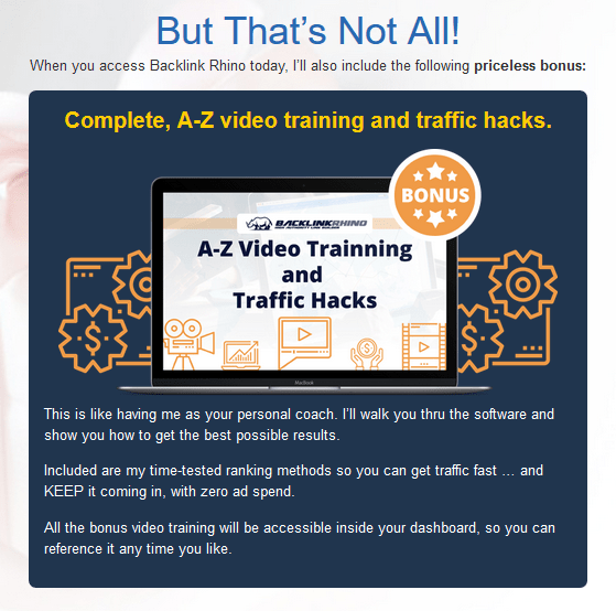 Backlink Rhino Builder Software By Matt Garrett Bonus