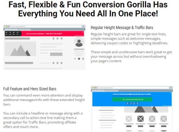 Conversion Gorilla By Promote Labs Inc Demo