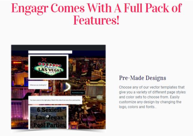 Engagr By Karthik Ramani Features
