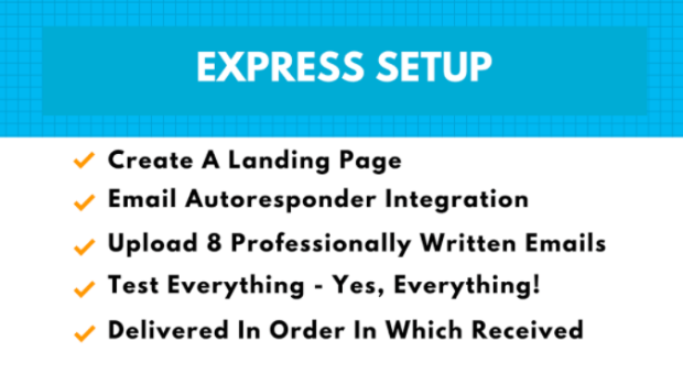 Online Sales Pro Express DFY Setup By Paul Counts Features