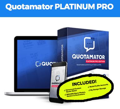 Quotamator Pro Platinum By Brett Ingram
