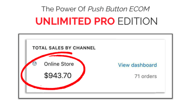 Push Button Ecom Pro Unlimited By Profitjackr Launch