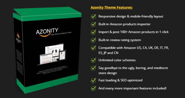 Azonity Wp Theme Developer License By Bcbiz Benefits