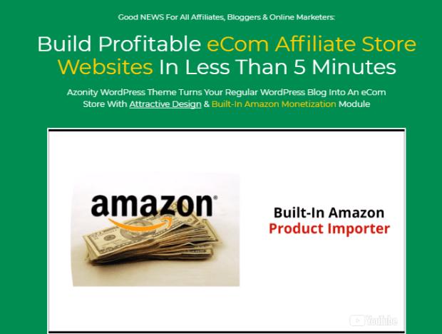 Azonity Wp Theme Developer License By Bcbiz - Best Amazon Affiliate ...