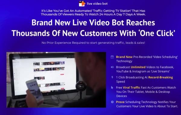 Live Video Bot Unlimited Software By Sam Bakker :The Best