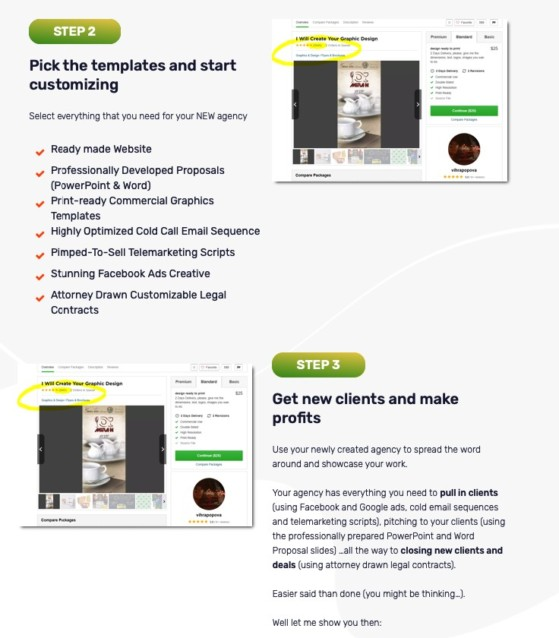 Agency Blitz Platform System And Upsell OTO by Mario Brown