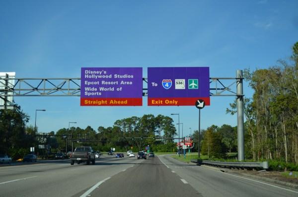 Florida 536 / Epcot Center Drive - AARoads - Florida