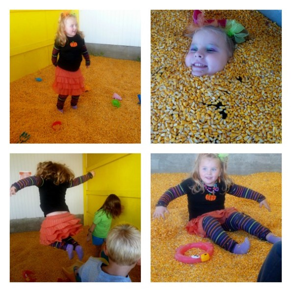 Pumpkin Patch Pizzazz Corn Bin