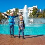 Fleet Museum Fountain