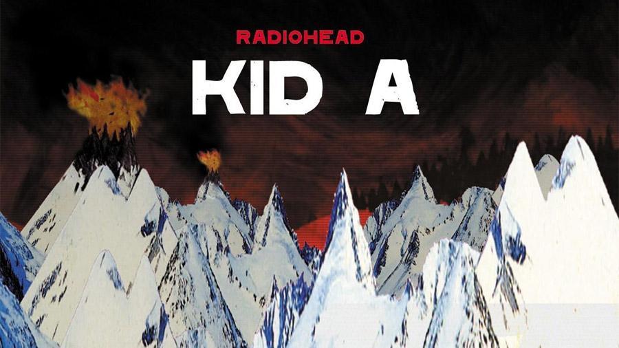 Kid A album cover
