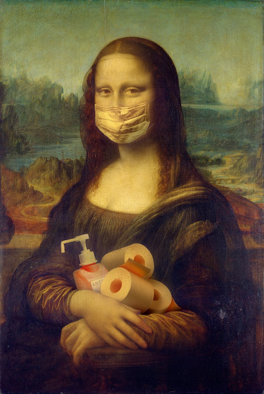 mona lisa protection protect virus