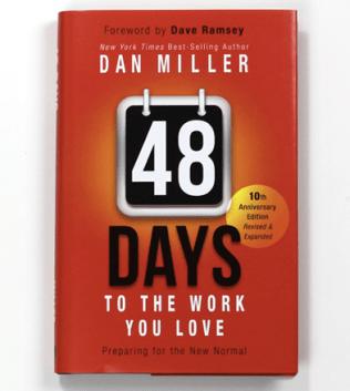 Book cover of Dan Miller's 48 Days