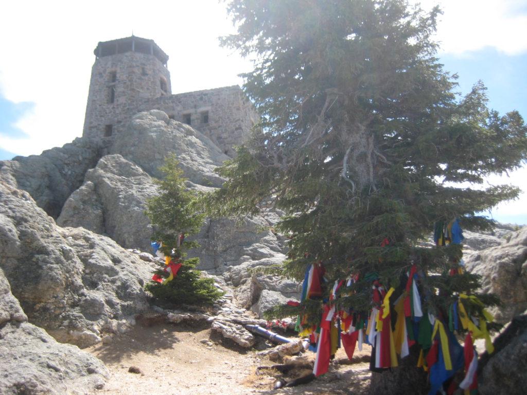 Harney Peak prayer flags