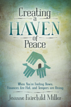 Creating a Haven of Peace cover shot by Joanne Miller