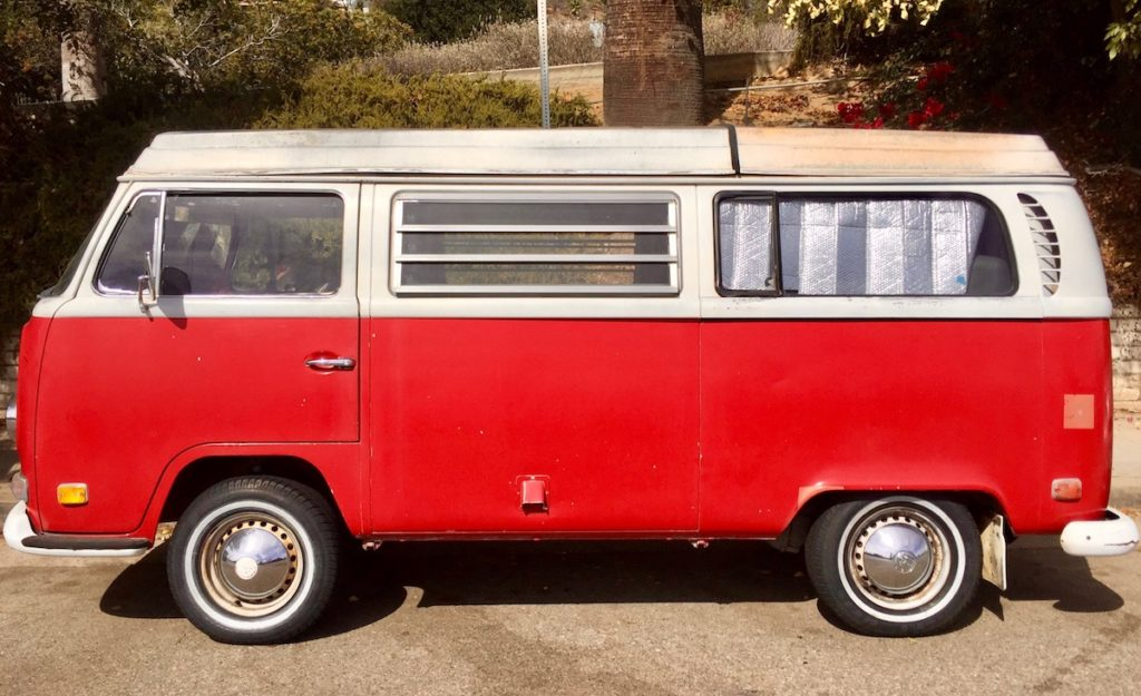 1970's westfalia camper highland park los angeles