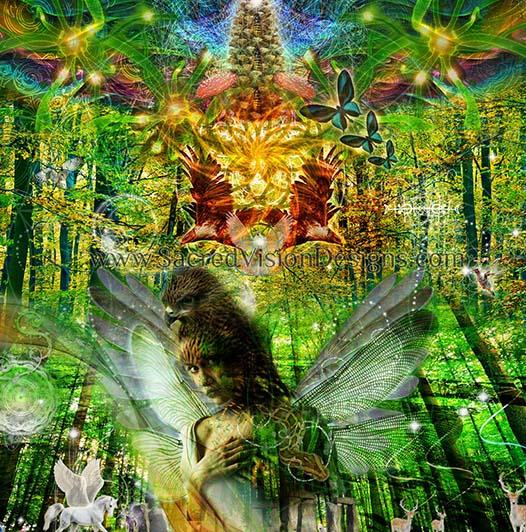 Faerie & Deva (Nature Spirits) Healing, Channeling, Activation & Readings