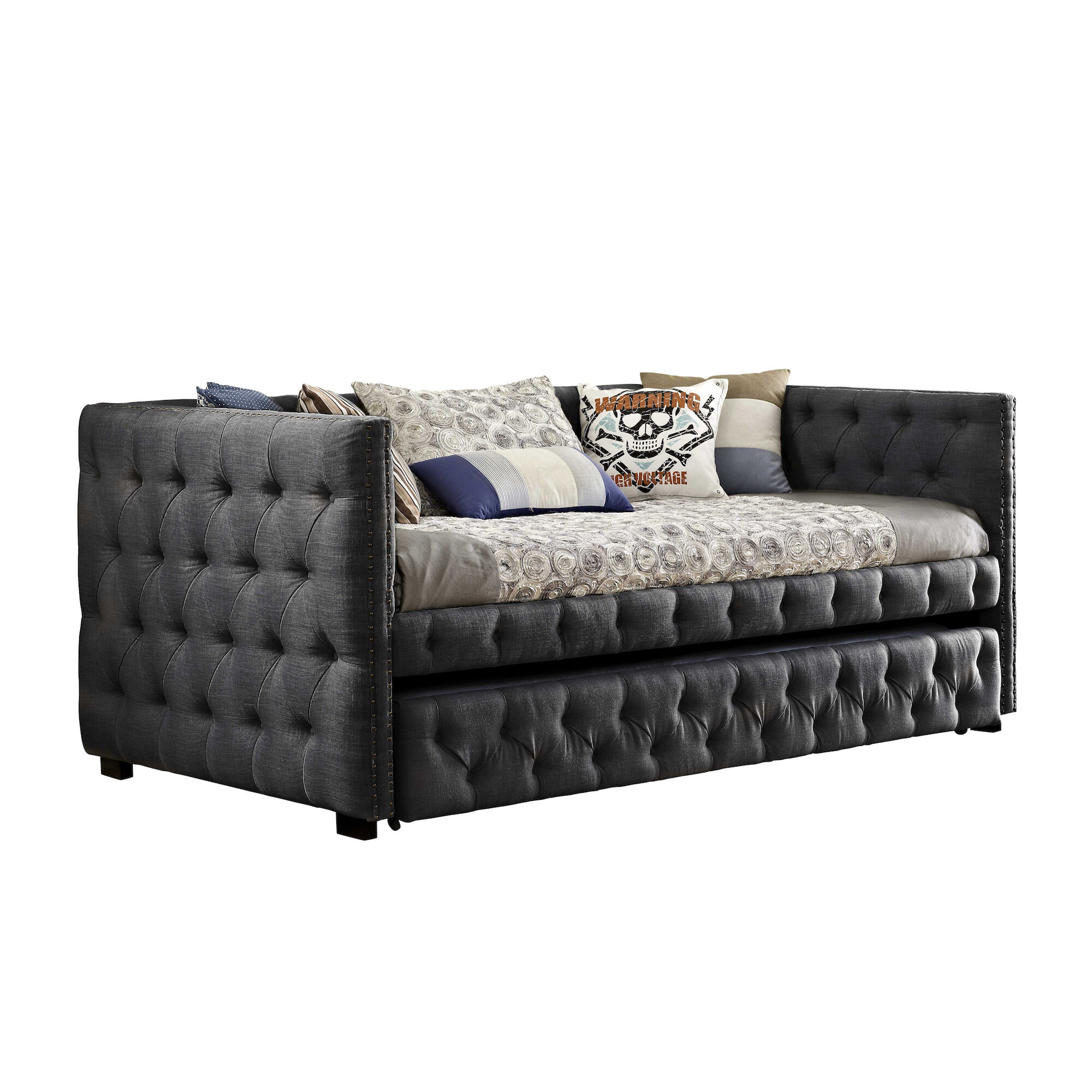 Elements Bedroom Groups Janell Daybed Charcoal