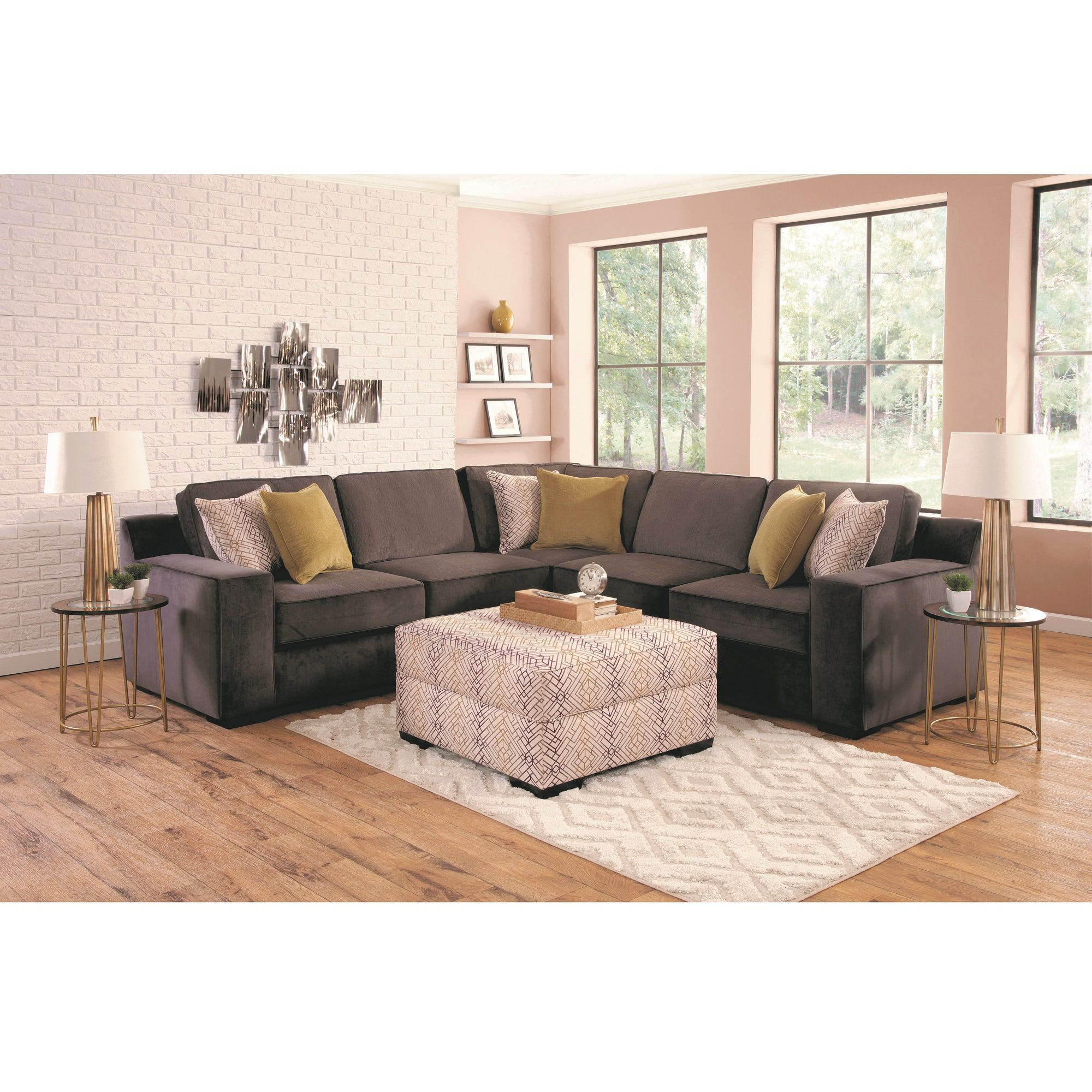 Rent to Own Living Room Furniture   Aaron s 4 Piece Sonja Living Room Collection
