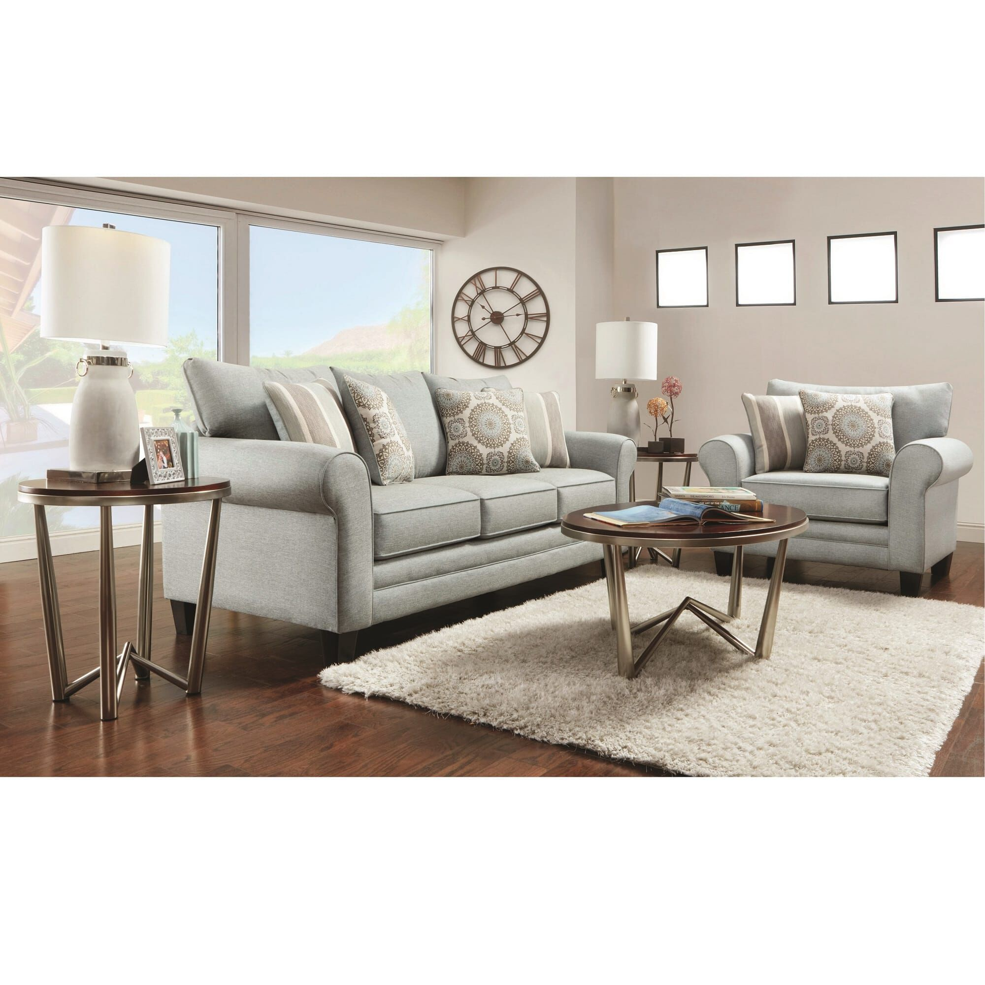 Fusion Furniture Living Room Sets 2 Piece Lara Living Room