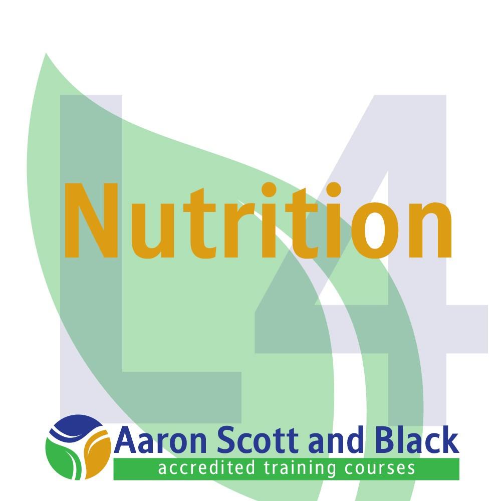Nutrition - Aaron Scott and Black