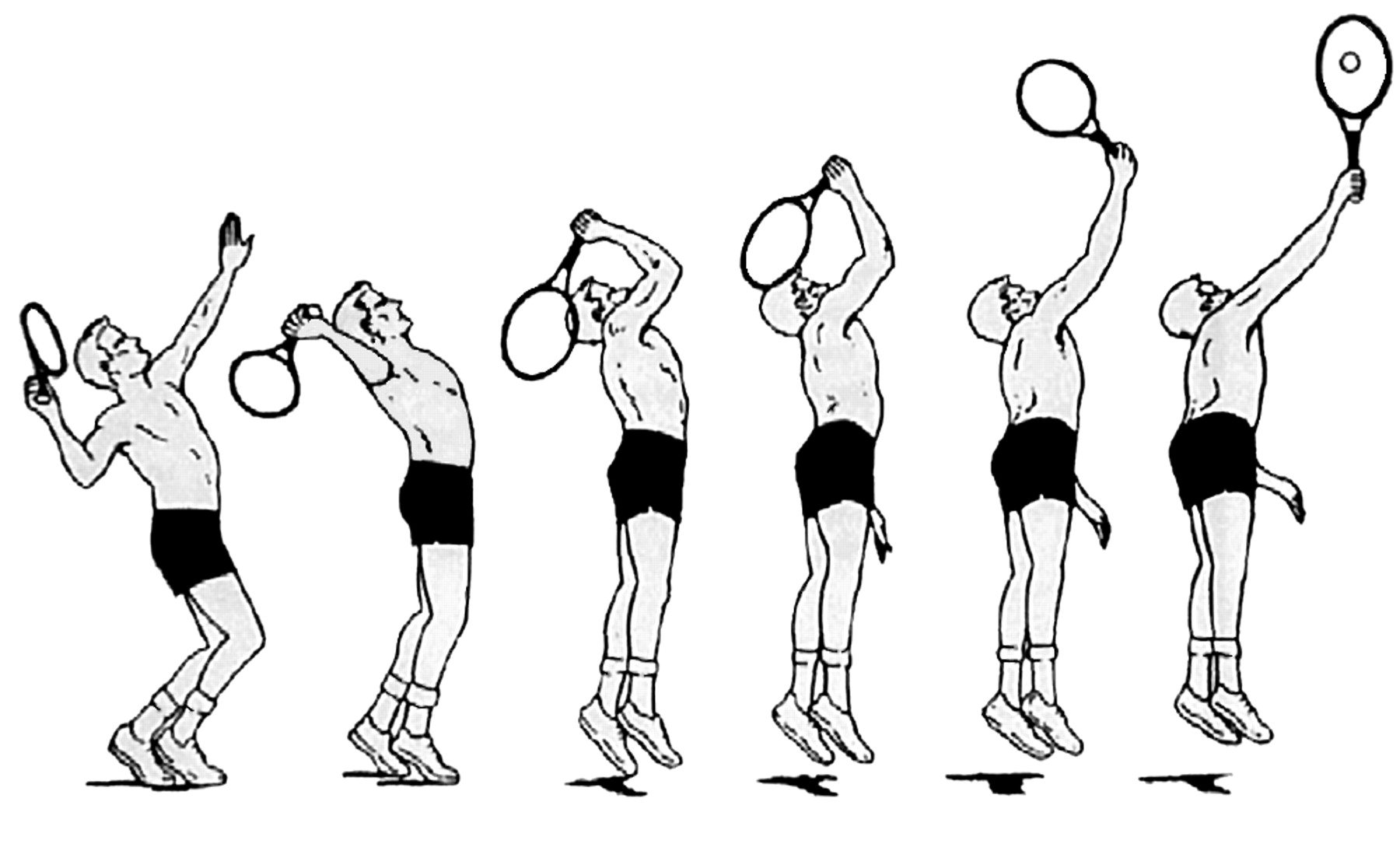 Serve Help To Save Shoulder